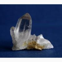 Дымчатый кварц, сросток прозрачных кристаллов