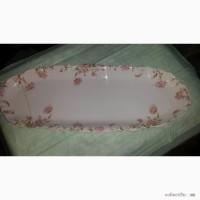 Продам блюдо льежский фарфор 64х24 1848г.