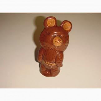 Фигурка мишка олимпийский, редкий, оригинал