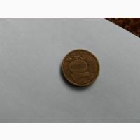 10 рублей 2011 года, брак, магнитная