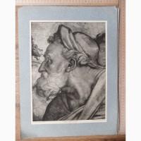 Папка гравюр Микеланджело Пророки и предсказательницы 16 гравюр, 1910 год издания