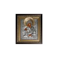 Библия в коже Иконы в золоте и в серебре