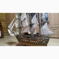 Продам корабль Виктория, сборка ручной работы