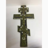 Крест большой (бронза, эмаль)