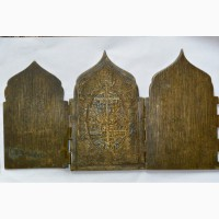 Складень четырехстворчатый «Двунадесятые праздники» XVIII в