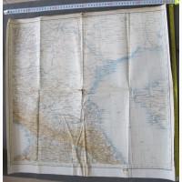 Карта Северный Кавказ, царская Россия, 1902 год