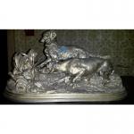 Скульптура Собаки у куропатки (Собаки на стойке).