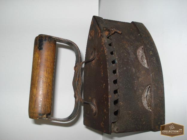Продам старый угольный утюг касли