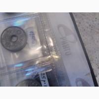 Японская монета номиналом 10 сенов 1944г