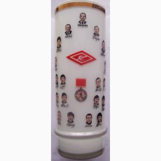 Памятная ваза Спартака о чемпионате по футболу в 1987 году