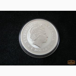 Серебряная монета Австралии (3) в Москве