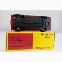 DINKY TOYS Москвич-408 цельнолитой арт.1410 коллекционная модель М1:43