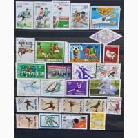 Продам почтовые марки тематика Спорт