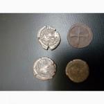 Продам античную монету Херсонес императ Лев 1 - голова воина, реверс геометрическое письмо