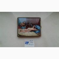 Продам серебренный портсигар конца 19 века