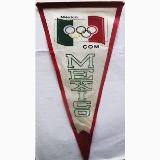 Вымпел олимпийского комитета Мексики