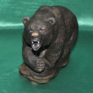 Авторская работа медведь КЕРУК из натурального камня