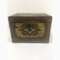 Старинная коробка из под чая до 1917г