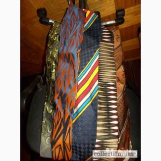 Галстуки винтажные есть шелковые Италия, Чехия, 80-90е годы