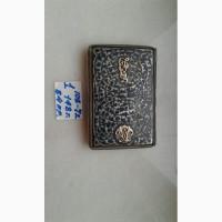 Продам серебренный портсигар Кубачи