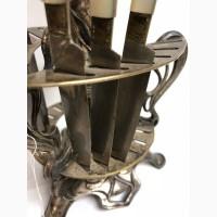 Старинный набор ножей (6шт) на подставке Модерн Фраже