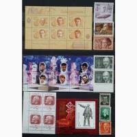 Продам почтовые марки тематика Персоналии