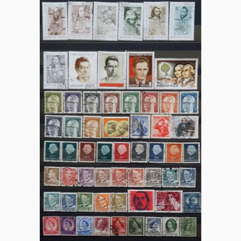 Фото 2. Продам почтовые марки тематика Персоналии