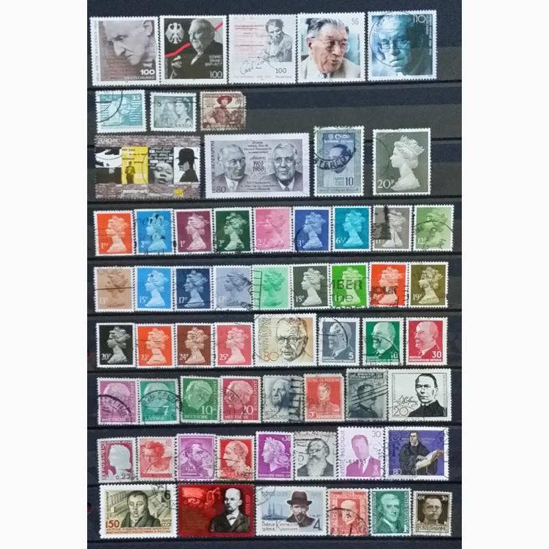 Фото 4. Продам почтовые марки тематика Персоналии