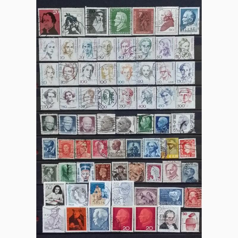 Фото 6. Продам почтовые марки тематика Персоналии