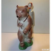 Статуэтка Маша и медведь Сысерть 1965 г