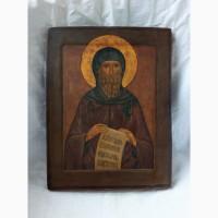 Продается Икона Св. преподобный Антоний Великий XIX век