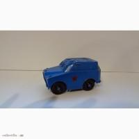 Синяя БРДМ с ракетницей, игрушка времён СССР