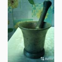 Продам ступку бронзовую с пестиком, 19 век