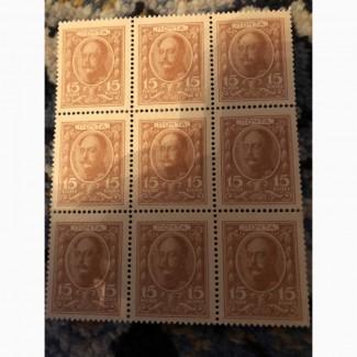 Продам марки- монеты