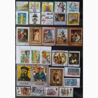 Продам почтовые марки тематика Искусство