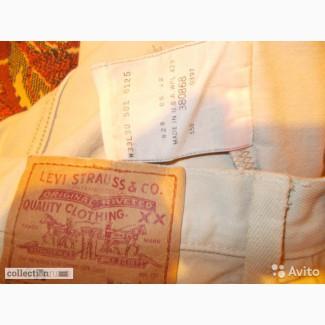 Джинсы Levis 501 made in USA оригинал привенны из США в конце 80х