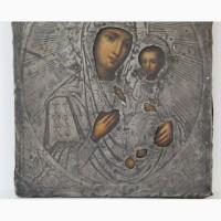 Продается Икона Пресвятая Богородица . Москва 1875 год