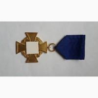 Крест 40 лет гражданской службы 2 класса. 3 рейх 1939 -1945 г германия