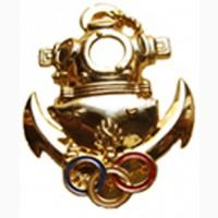 Французский знак водолаза-инструктора