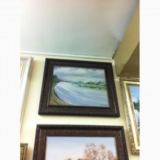 Продам картину река бурлит
