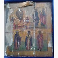 Икона Николай Отвратный, темпера, Ветка, 19 век
