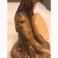 Фигура фарфоровая тунгузский шаман (костюм эвенкийкого шамана)