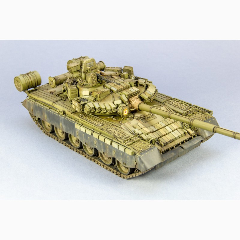 Фото 3. Т-80 БВ в масштабе 1:35