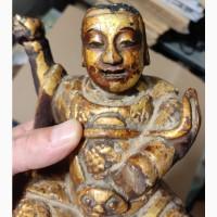 Деревянная статуэтка Будда, 18 век