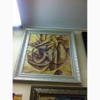Продам картину желтый человек