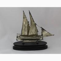 Продается Серебряная парусная двухмачтовая Бригантина. Мальта 1975-1985 гг