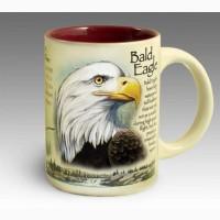 Кружка керамическая Bald Eagle American Expedition
