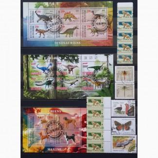 Продам почтовые марки тематика Фауна