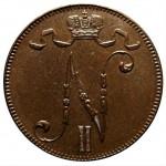 Редкая монета 5 пенни 1917 год