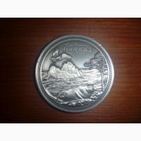 Сувенирная коллекционная монета Байкал (нерпа)